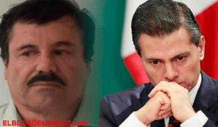 Peña Nieto buscó a El Chapo y le pidió un pago de 250 millones de dólares, El presidente quería trabajar con él.