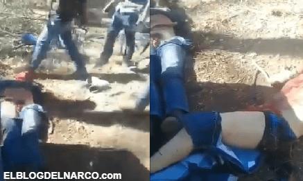 Vídeo estremecedor donde Sicarios cortan genitales a rivales y los obligan a comérselos...