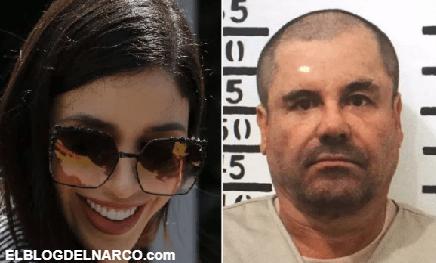 Emma Coronel disfruta lo que El Chapo Guzmán no puede, su libertad y en este lugar...