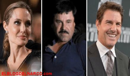 """""""El Chapo"""" quería a Tom Cruise y a Angelina Jolie para protagonizar su película y que lo representaran a el y a su bella esposa"""
