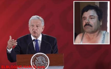 El Chapo Guzmán y al C.D.S recibe golpe de AMLO en donde más le duele...