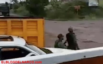 Sicarios del CJNG a la caza de Los Viagras con artillería pesada (VÍDEO)