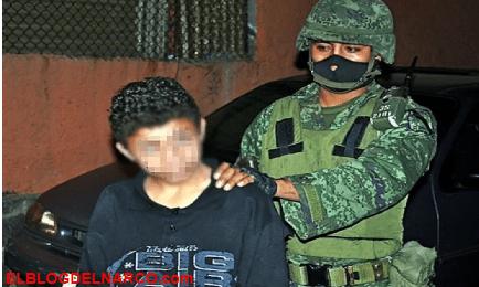 La trágica historia de 'El Ponchis', el niño sicario que aprendió a descuartizar a los 11 años...