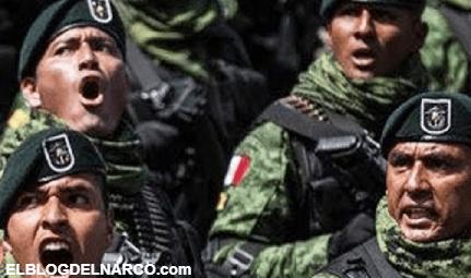 Como olvidar cuando nuestros Soldados Mexicanos desarmaron en la frontera a Soldados Gringos y los Interrogaron...