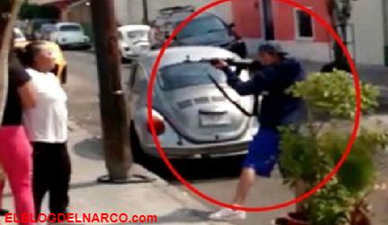 Le decían El Chimino, Encañonó y amenazó a mujeres, el Sábado lo ejecutaron.... (Vídeo)