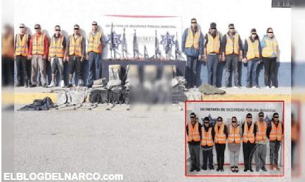 """Detienen a 20 sicarios de """"Los Mexicles"""" con arsenal y droga, en Ciudad Juárez"""