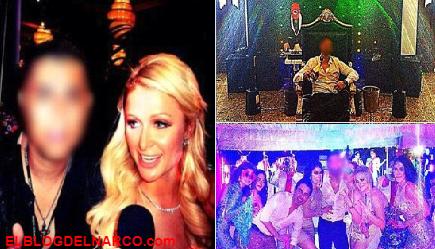 Paris Hilton tenía un romance con El Chino Antrax el ex líder del brazo armado del Cártel de Sinaloa