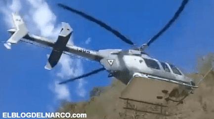 Campesinos lanzan cohetes y piedras a helicópteros del Ejército por fumigar sus plantíos de amapola