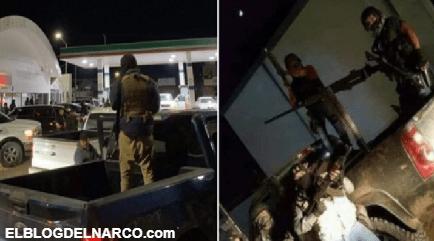 Tras la ejecución del JJ, en convoy y bien armados llegan Sicarios del Chapito a Sonora