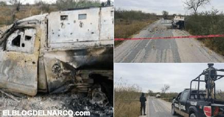 ¡Chamuscados! Queman vivos a cuatros sicarios tras batalla del CDN y CDG (Fotografías)