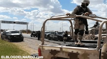 Caen doce sicarios del CDN con tres armas largas en brecha cercana Hidalgo, Coahuila