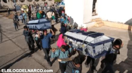 El mapa de la narco-violencia ensangrienta a todo México en enero y lo que va de febrero
