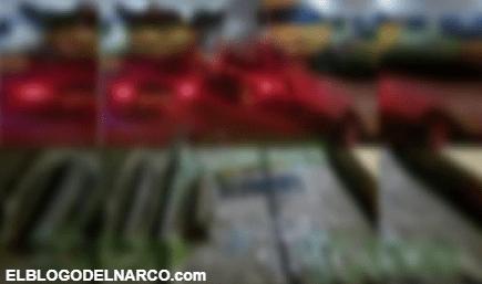 Elementos del Ejercito les madrugan campamento al CJNG, aseguran 8 vehículos, droga y tres arietes