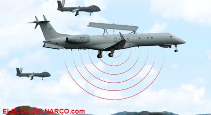 Jets, drones y satélites, cómo caza la Fuerza Aérea Mexicana las narco avionetas
