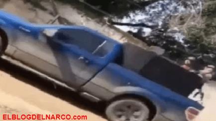 Narcos del Cártel de Sinaloa se exhiben en tierra natal del Chapo Guzmán (VÍDEO)