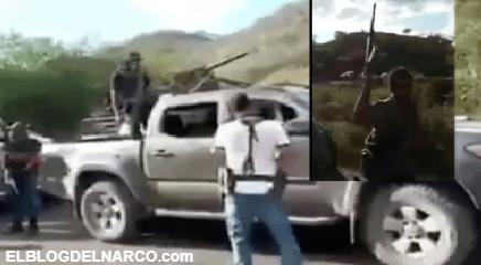 Nueva Familia Michoacana amenaza a CJNG con troca usada en guerras (VÍDEO)