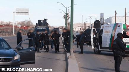Reportero bloqueó calle para evitar paso de autos a balacera en Cd Juárez