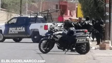 Convoy atacan a plomazos a custodios del Cereso de Guanajuato, hay 2 custodios abatidos y 2 heridos