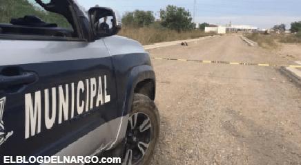 Encuentran a un hombre acribillado a balazos cerca de Punta Azul, Culiacán