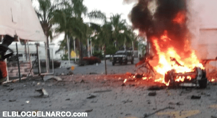 Explota carro bomba en las instalaciones del cuartel de la Guardia Nacional en Celaya, Guanajuato (VÍDEO)