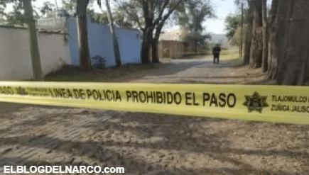 Hallan 2 cuerpos envueltos en plástico en Tlajomulco