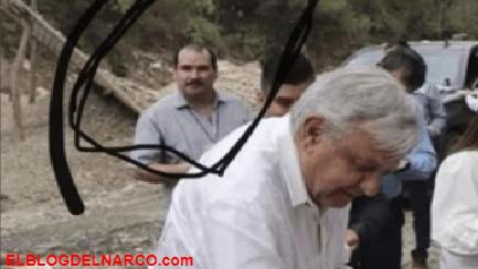 """La verdad detrás de la foto de López Obrador en la que aparece un supuestamente """"El Guano"""""""