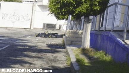 Sicarios lanzan desde auto cabeza humana en Michoacán