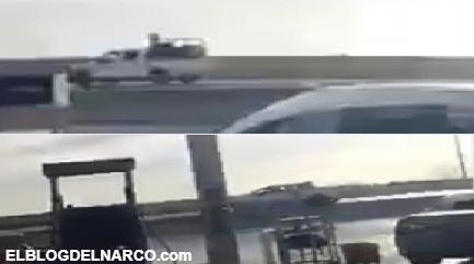Tropa del Infierno del Cártel del Noreste balea a Guardia Nacional en Nuevo Laredo (VÍDEO)