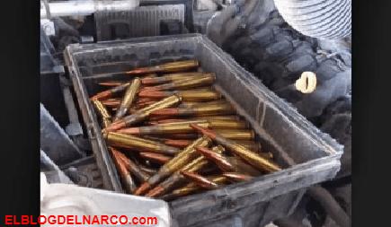 A 2 jóvenes le decomisaron Puro calibre 50 antes de cruzar a México