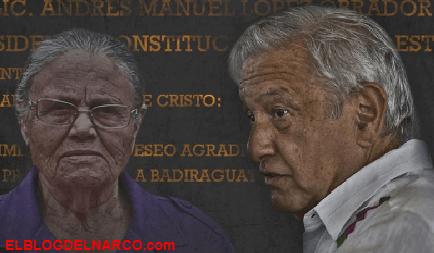 Así es la relación entre Consuelo Loera la madre del Chapo Guzmán y López Obrador