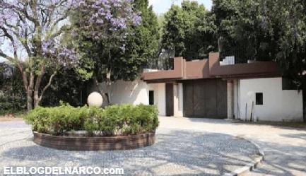 """Casa de """"El Señor de los Cielos"""" el Pedregal será subastada en más de 53 millones de pesos"""
