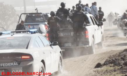 Dos heridos y cincos detenidos tras operativo en Aguascalientes