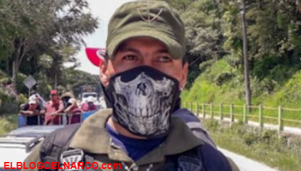 El Capache de escolta a sicario de élite de misiones especiales del CJNG a Cazador de contras