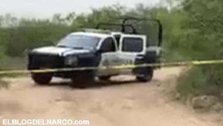 FOTOS Pistoleros del Cartel del Golfo atacan a Policias Estatales; hay 2 oficiales heridos