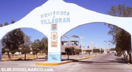 GUANAJUATO Otro enfrascamiento mas en Villagrán; balacera entre sicarios y la marina