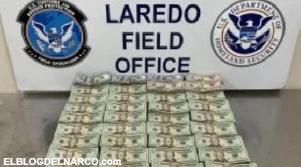 Le decomisan $2 millones de dólares de ganancias a narcos y polleros