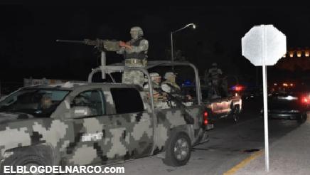 'Levantan' a tres sujetos por violar el toque de queda en Los Mochis, entre ellos un militar