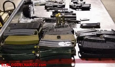 Lo detuvieron antes de cruzar a México con armas, cargadores, balas y una réplica de granada