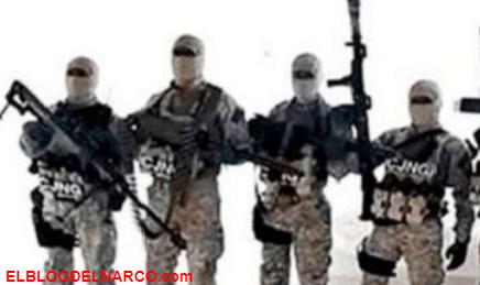 Los Matamarros esto es lo que ganan los pistoleros del CJNG de el Mencho