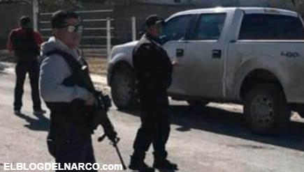 VÍDEO Así se enfrentan los Viagras y CJNG, Narcobloqueos con vehículos quemados y pobladores