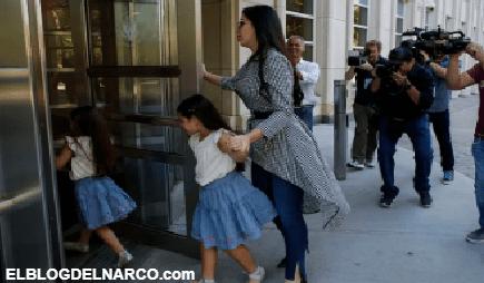 VÍDEO Emma Coronel presume a sus gemelas y ellas le envían un amoroso mensaje al Chapo