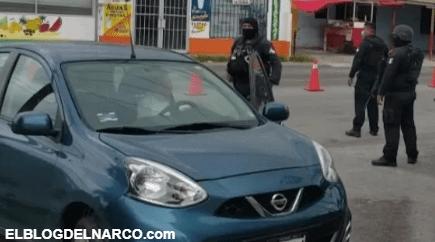 Bloquean Sicarios calles de Reynosa para huir de Policías que los perseguían