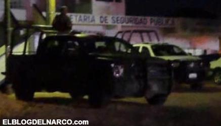 Comandos armados atacan instalaciones de la SSP en 3 municipios del sur de Veracruz