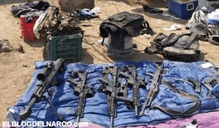 Detienen a siete sicarios de Carteles Unidos en Narcocampamento en Michoacán