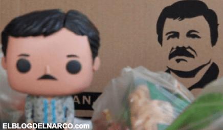 FOTOS Hija del 'Chapo' Guzmán regala juguetes Figura del Chapo Guzmán a niños en Jalisco