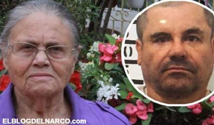 Imágenes de el lujoso regalo que el Chapo Guzmán le envió a su madre Consuelo Loera