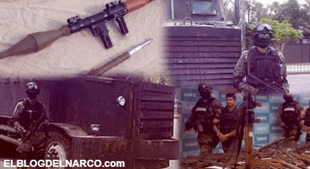 Lanzacohetes y narcotanques, las armas favoritas de los cárteles del narcotráfico en México