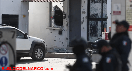 Sicarios cobardes y llorones huyeron tras ser repelido el ataque pero regresaron atacar a los Policías