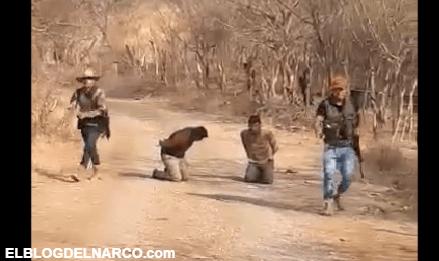 Vídeo donde la Familia Michoacana fusila con Barrett Calibre 50 al jefe de sicarios de CJNG
