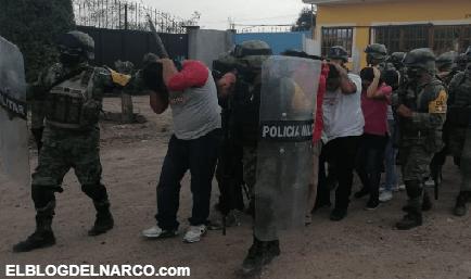 Caen 26 integrantes del Cartel de Santa Rosa de Lima por quema de Vehículos y Narcobloqueos en Celaya